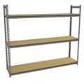 "Three Shelf Storage Rack - 69""W x 30""D, 36651"