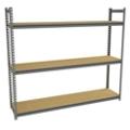 """Four Shelf Storage Rack - 69""""W x 30""""D, 36655"""