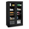 """Glass Door Storage Cabinet - 24""""D x 78""""H, 36706"""