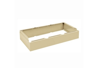 "36""W x 18""D x 6""H Three Wide Locker Base, 36134"