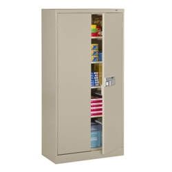 "Storage Cabinet with Keypad Lock - 72"" H, 36152"