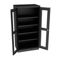 """Glass Door Storage Cabinet - 24""""D x 72""""H, 36704"""