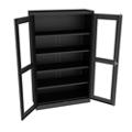 """Glass Door Storage Cabinet - 18""""D x 78""""H, 36705"""