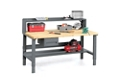 "Workbench with Riser and Storage - 36"" x 72"", 92172"