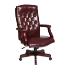 Traditional Executive Vinyl Chair, CD03276