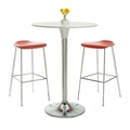 Café Table and Two Bar Stools Set, 44296