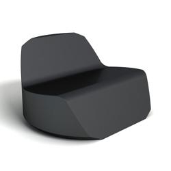 Modern Round Foam Lounge Chair, 76079