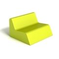 Modern Square Mini Foam Lounge Chair, 76094