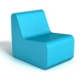Modern Soft Corner Foam Chair, 76115