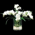 """Orchid in Faux Water - 20""""H, 87699"""