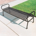 Vertical Slat Bench - 4 ft, 82153