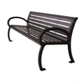 Horizontal Slat Bench - 6 ft, 82408