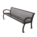 Vertical Slat Bench - 4 ft, 82410