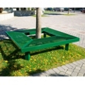 In-Ground Perforated 6 ft Mall Bench , 85971
