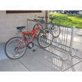 Modern 5 ft Portable Double Sided Bike Rack, 87133