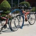 Round Horseshoe In-Ground Bike Rack , 87941