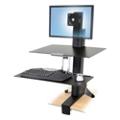 Adjustable Height Single Monitor Desktop Mount, 11335