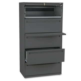 """Five Drawer 36""""W Lateral File, 30281"""