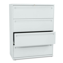 """Four Drawer Lateral File - 42""""W, 30283"""
