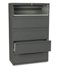 """Five Drawer 42""""W Lateral File, 30284"""