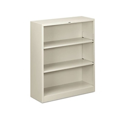 Steel Bookcase with Three Shelves, 32191