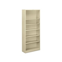 Steel Bookcase with Six Shelves, 32194