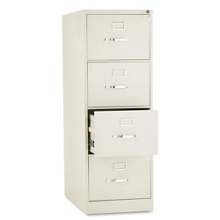 "Heavy-Duty Four Drawer Legal Size Vertical File - 26-1/2""D, 34010"