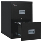 Two Drawer Fireproof Vertical File - Letter/Legal Size, 34021