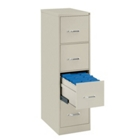 Four Drawer Letter Size Vertical File, 34426-1