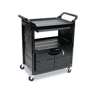 Utility Cart with Locking Storage Area, 36010