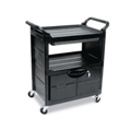 Utility Cart with Locking Storage Area, 36010