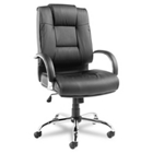 High-Back Leather Chair, 50766