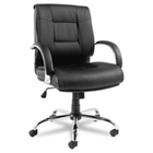 Mid-Back Leather Chair, 50767