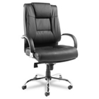 Big-and-Tall High-Back Leather Chair, 50770