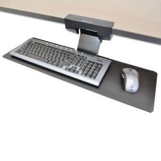 Adjustable Height Under-Desk Keyboard Tray, 85389