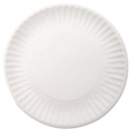 "9"" White Paper Plates - Carton of 1000, 87195"