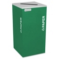 Square Paper Recycling Receptacle - 24 Gallon, 87250