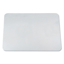 "Clear Vinyl Antimicrobial Desk Pad - 38""W x 24""D, 87480"