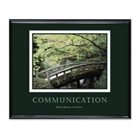 Framed Motivational Print - Communication, 91120