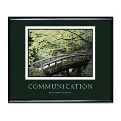 Framed Motivational Print - Communication, 91120