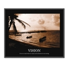 Framed Motivational Print - Vision, 91124