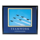 Framed Motivational Print - Teamwork, 91125