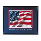 Framed Motivational Print - United We Stand, 91126