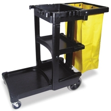 Multi-Shelf Janitor Cart, 91779