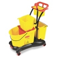 35 Quart Mop Trolley with Side Press, 91786