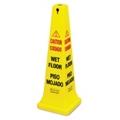 """36""""H Wet Floor Safety Cone, 91790"""
