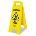 """26""""H Wet Floor Sign, 91791"""