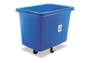 500 lbs. Capacity Mobile Recycling Cart, 87001