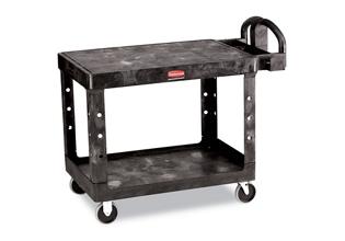 """26""""W Two Shelf Utility Cart, 36373"""