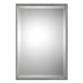"""31""""H x 21""""W Rectangular Metal Frame Mirror, 90015"""